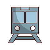 subway transport isolated icon Royalty Free Stock Photos