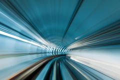 Subway tunnel royalty free stock photos