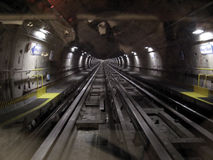 Subway tunnel Stock Image