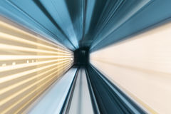 Subway tunnel Stock Images
