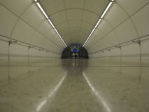 Subway Tunnel in Donostia, Basque Country Royalty Free Stock Photography
