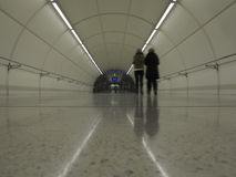 Subway Tunnel in Donostia, Basque Country Stock Photo