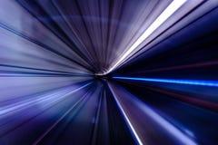 Subway tunnel motion speed rail background. Subway tunnel motion speed rail royalty free stock photo