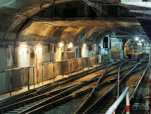 Subway tunnel Stock Image