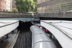 Subway. Undergroun in London Royalty Free Stock Photo