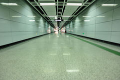 Subway underground passage  Stock Images
