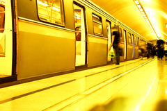 Subway. Underground station Royalty Free Stock Images