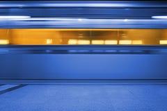 Subway. Underground Train Stock Photography