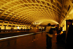Subway in Washington DC Royalty Free Stock Photo