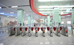 Subwaystation stock photography