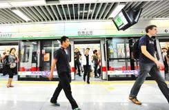 subwaystation 图库摄影