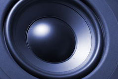 Subwoofer close-up Stock Image