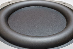 Subwoofer close-up Royalty Free Stock Photos