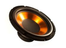 Subwoofer speaker Royalty Free Stock Images