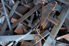 Sucata de aço Imagens de Stock