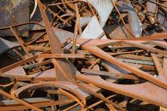 Sucata de aço Imagem de Stock Royalty Free