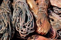 Sucata de cobre Foto de Stock