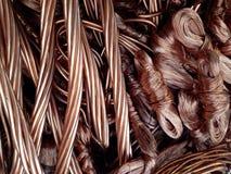 Sucata de cobre, millberry Imagem de Stock