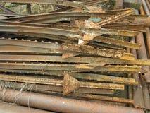 Sucata de oxidação velha foto de stock