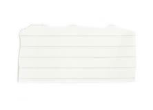 Sucata de papel alinhada. Fotografia de Stock Royalty Free