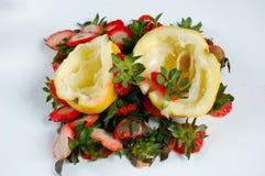 Sucatas das frutas Fotografia de Stock Royalty Free