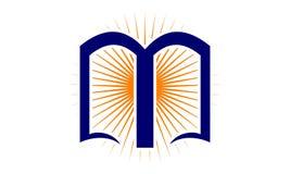 Succès donnant des leçons particulières à Logo Design Template illustration libre de droits