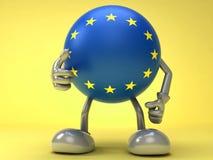 Succès européen Photo libre de droits