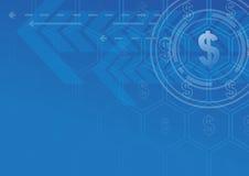 Succès financier de technologie Image libre de droits