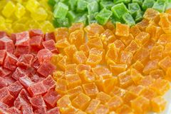 Succade di Multicolores, colore 4 Immagini Stock