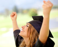 Succeeding in education Royalty Free Stock Images
