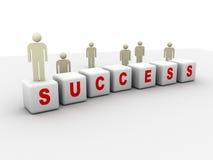 Succes Stock Foto