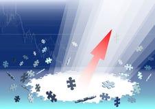 Succes. Stock Foto