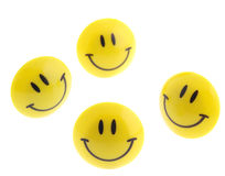 Succes abstract - isolated icon smile Stock Image