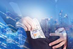 Succes in bedrijfsconcept royalty-vrije stock afbeelding