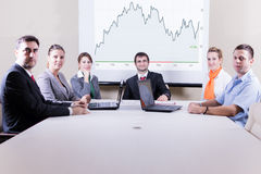 Succes business team Stock Image