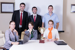Succes business team Stock Image