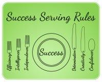 Succes dienende hulpmiddelen Royalty-vrije Illustratie