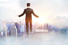 Succes en in evenwicht brengend concept royalty-vrije stock foto's