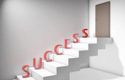 Succes en hardwork Royalty-vrije Stock Fotografie