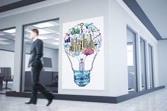 Succes en ondernemerschapsconcept Stock Fotografie