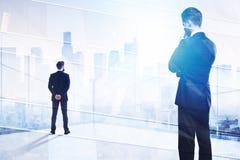 Succes en uitvoerend concept stock afbeelding