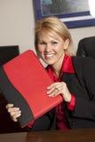 Succes in haar zaken Royalty-vrije Stock Foto's