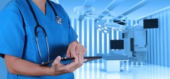 Succes slimme medische arts Royalty-vrije Stock Afbeelding