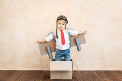 Succes, verbeeldings en innovatietechnologieconcept stock fotografie