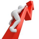 Succes in zaken Stock Foto's