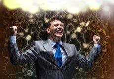 Succes in zaken Stock Foto
