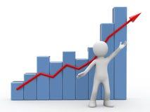Succes in zaken. Royalty-vrije Stock Fotografie