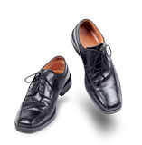 Succesful business shoes dancing Stock Images