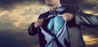 Succesful businessman stock image