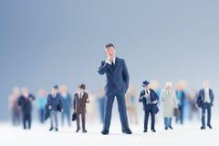Succesful businessman Stock Images